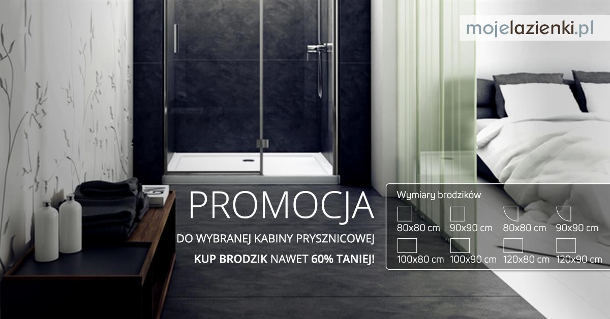 Prysznice i brodziki oferta specjalna